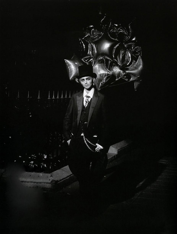 В шкуре Джона Гальяно / Саша Пивоварова, фотограф Питер Линдберг / фото 08