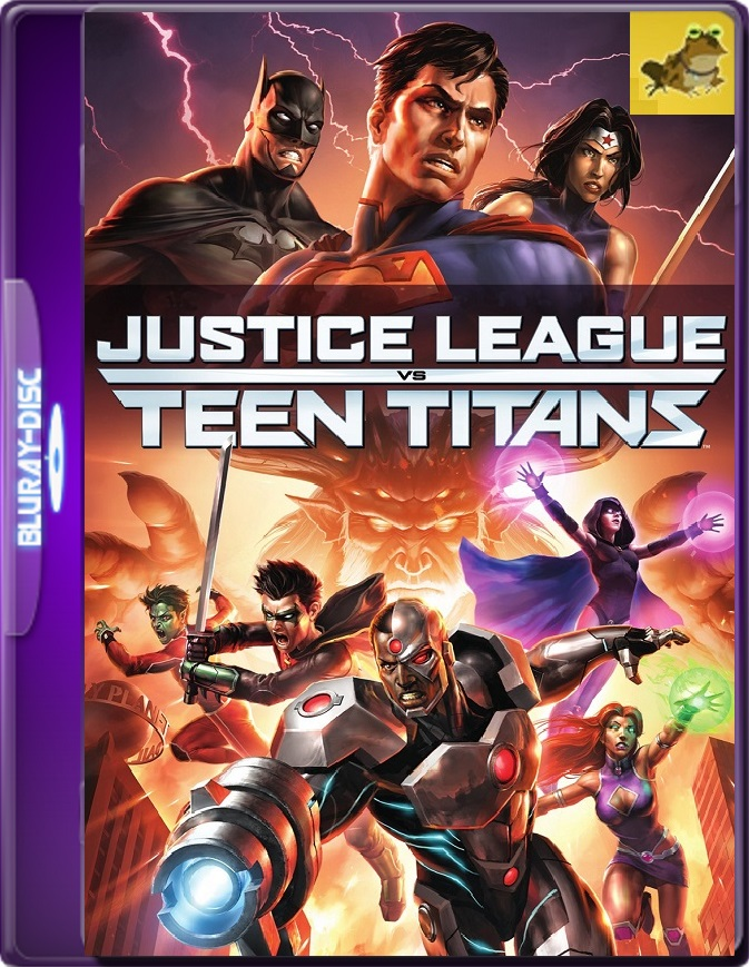La Liga De La Justicia VS Los Jóvenes Titanes (2016) Brrip 1080p (60 FPS) Latino / Inglés