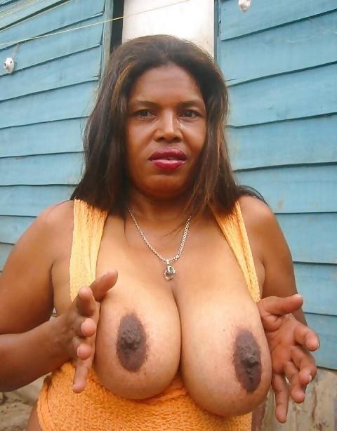 Big black tits sex-2466