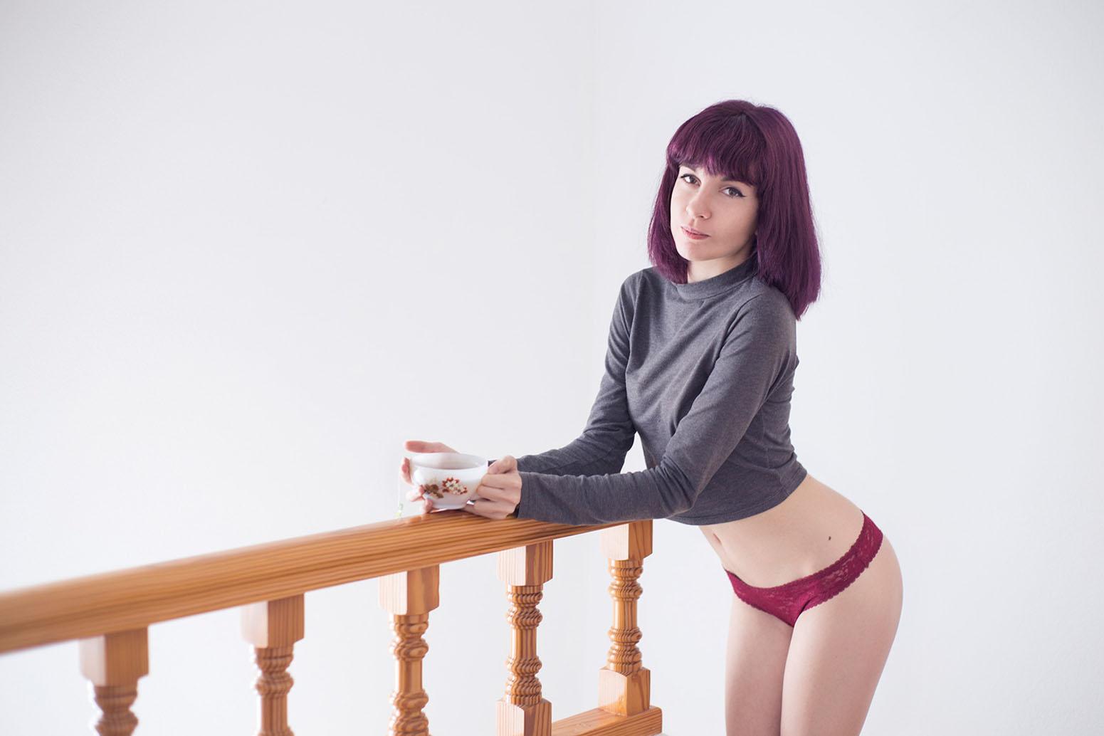 All in this tea - Moninoke by Lorena Blaze