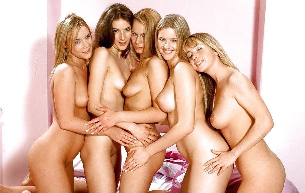 Busty lesbian strapon orgy-3804