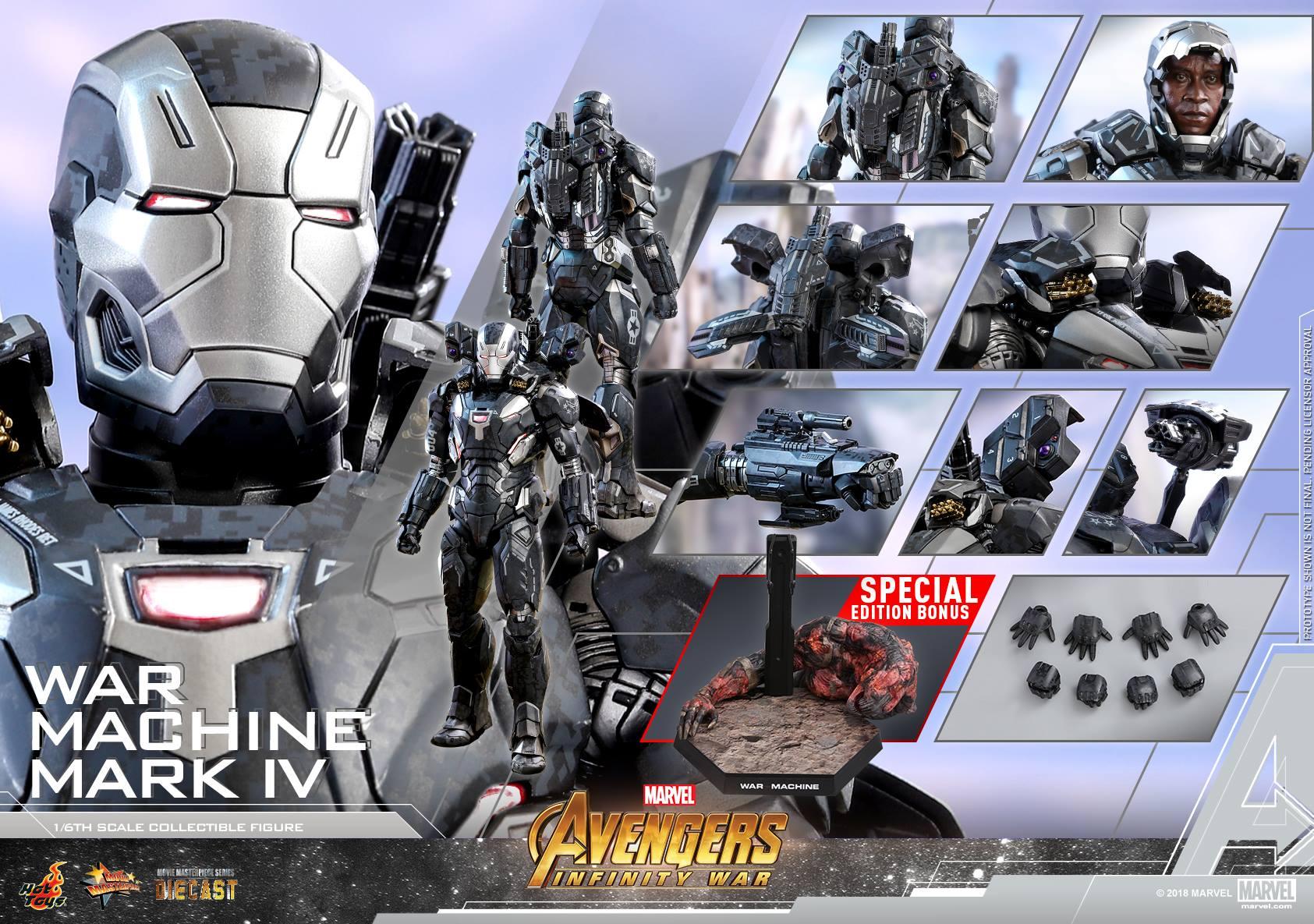 Avengers - Infinity Wars - War Machine Mark IV 1/6 (Hot Toys) FSi4QACl_o
