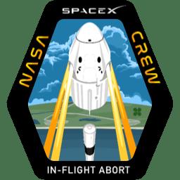 Crew Dragon In Flight Abort Test patch