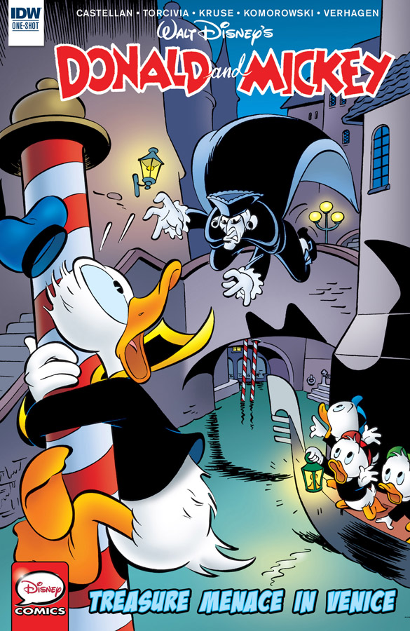 Donald and Mickey #1-4 (2017-2018)