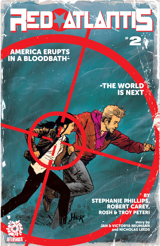 Red Atlantis #1-4 (2020-2021)