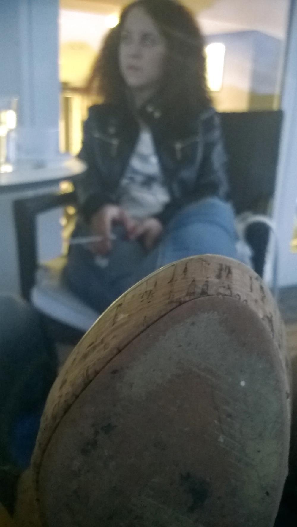 Lesbian foot fetish nylon-1878