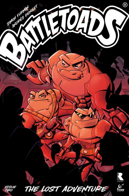 Battletoads - The Lost Adventure #1-2 (2020)