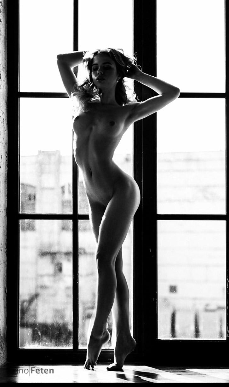 Сексуальная Александра Смелова / Alexandra Smelova sexy nude by Michael Gerasimov