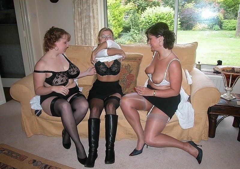 Lesbian threesome licking-4129
