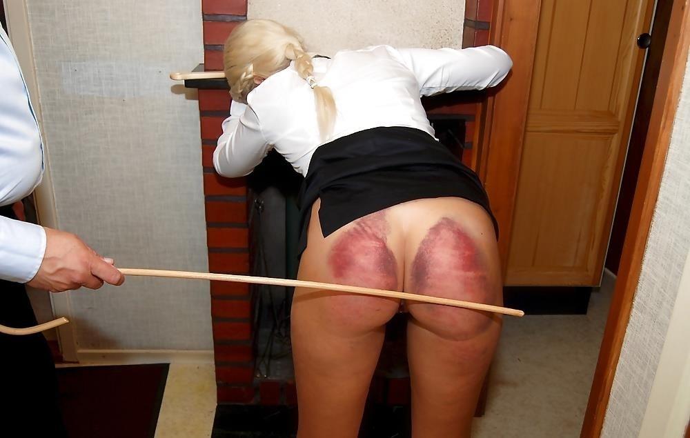 Ebony schoolgirl spanking-6006