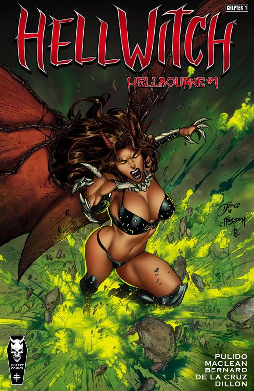 Hellwitch #1-2 (2019-2020)