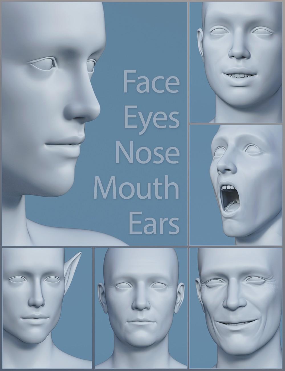 Genesis 8 Male Head Morphs