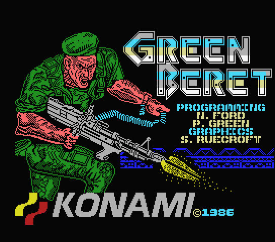 Green Beret Retro PC Oyun Oyna
