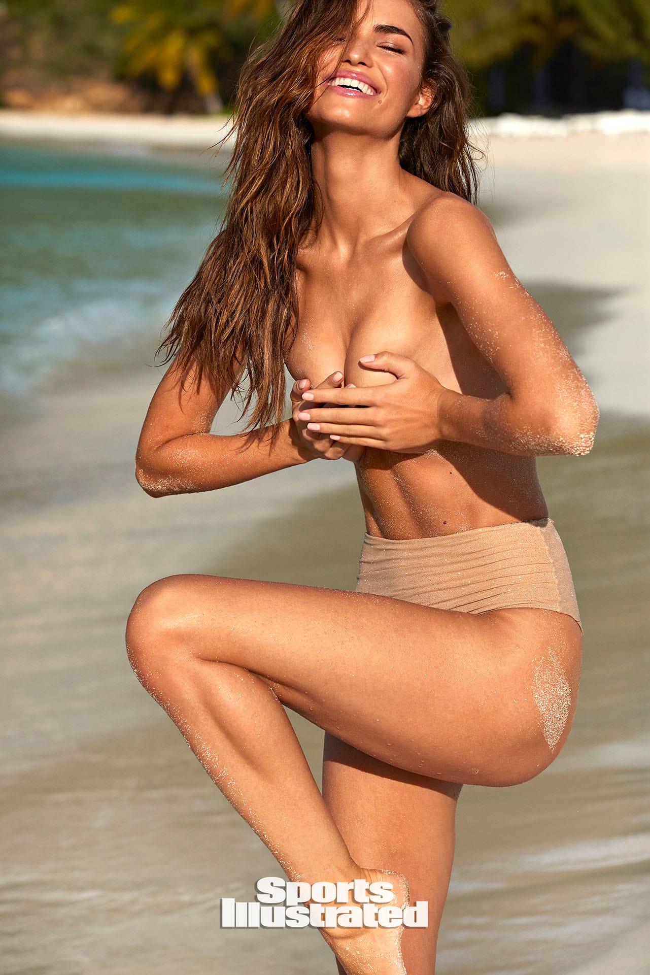 Робин Хольцкен в каталоге купальников Sports Illustrated Swimsuit 2020 / фото 16