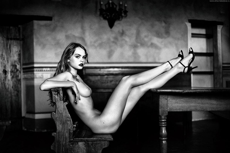 Anastasiya Scheglova by Alina Lebedeva
