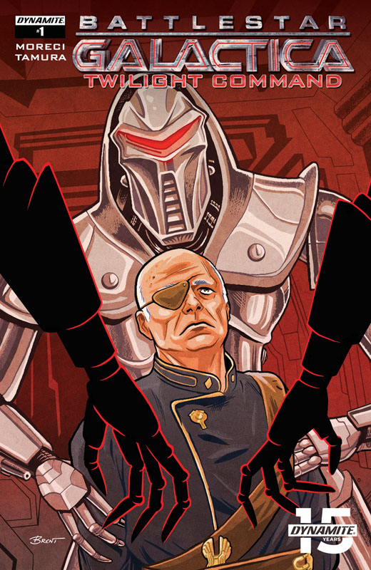 Battlestar Galactica - Twilight Command #1-3 (2019)