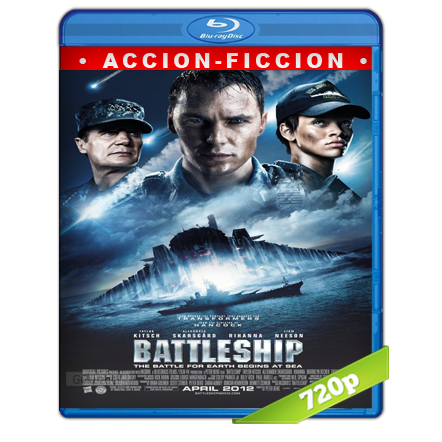 Battleship Batalla Naval (2012) BRRip 720p Audio Trial Latino-Castellano-Ingles 5.1