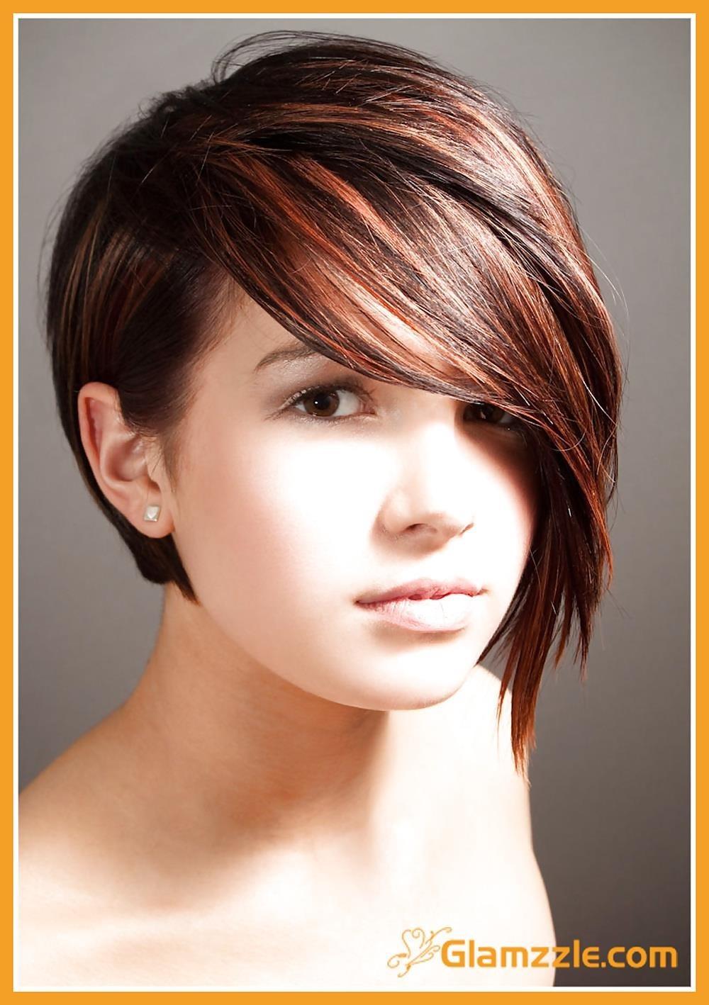 Best hair style for short hair girl-1709