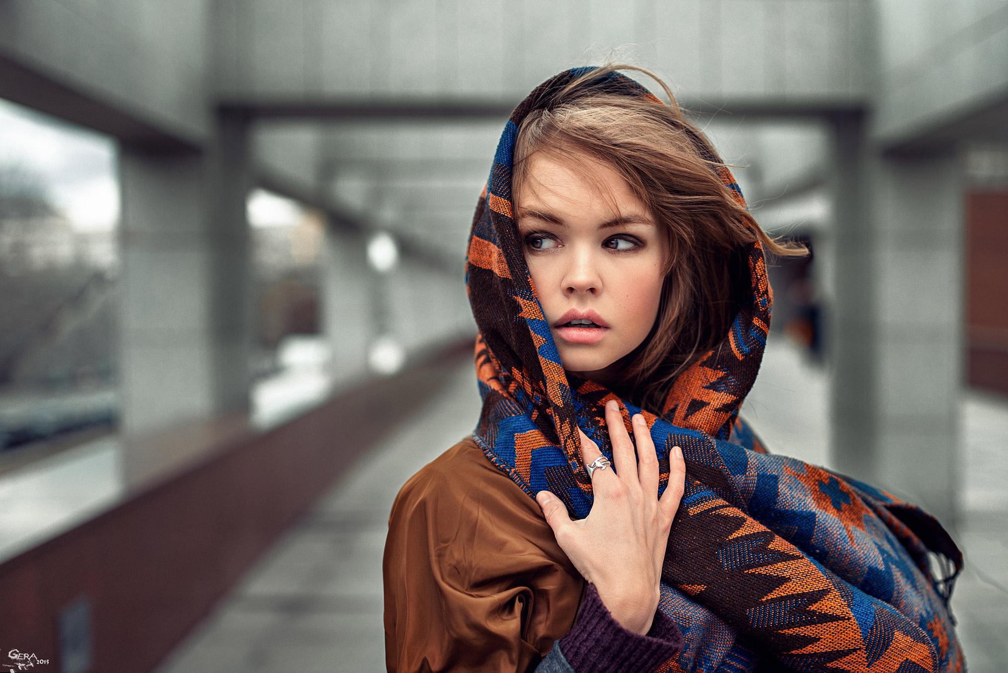 Портрет - Anastasia Scheglova / Анастасия Щеглова, фотограф Георгий Чернядьев / Georgy Chernyadyev