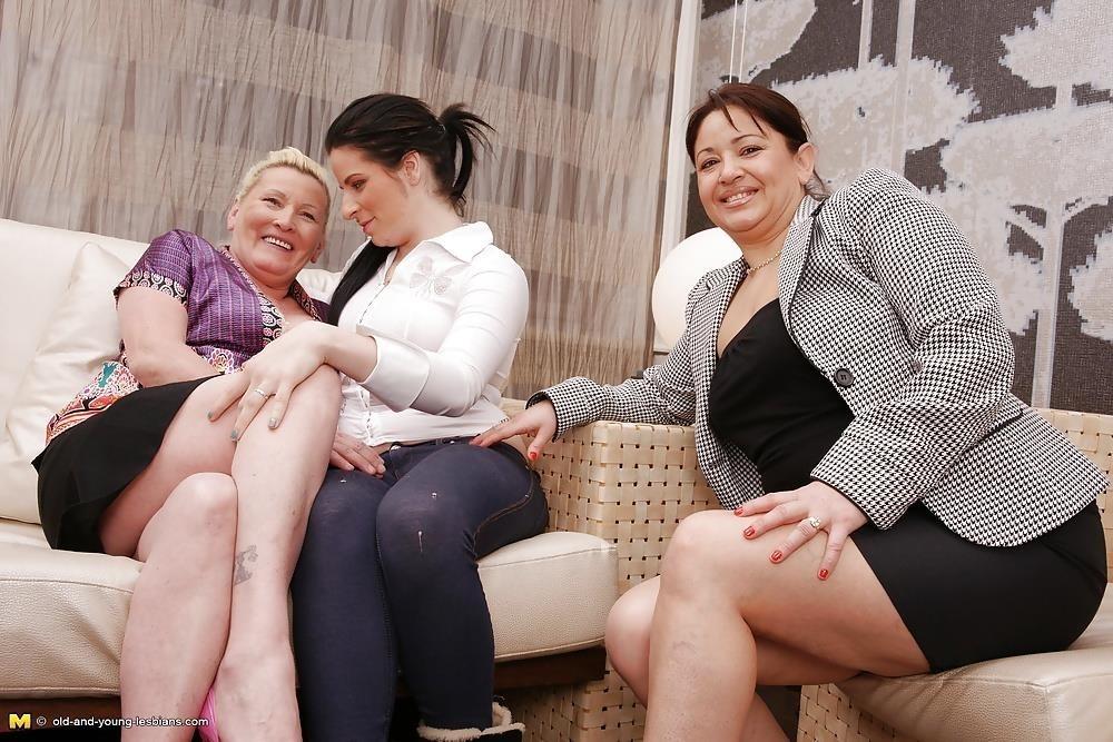 Lesbian grandma orgy-3554
