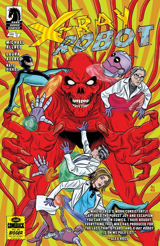 X-Ray Robot #1-3 (2020)