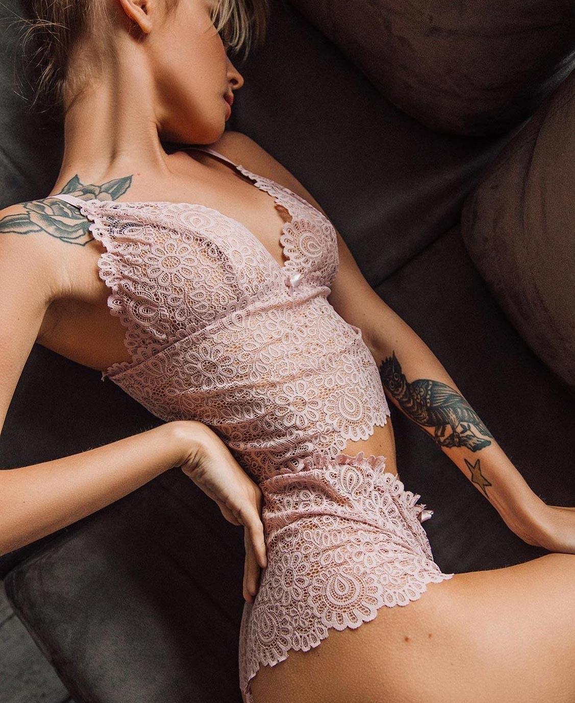 Анастасия Щеглова в нижнем белье торговой марки MissX / фото 32