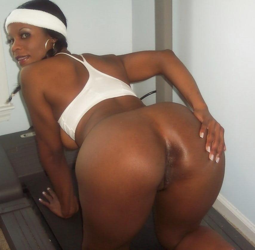 Perfect ebony booty-5745