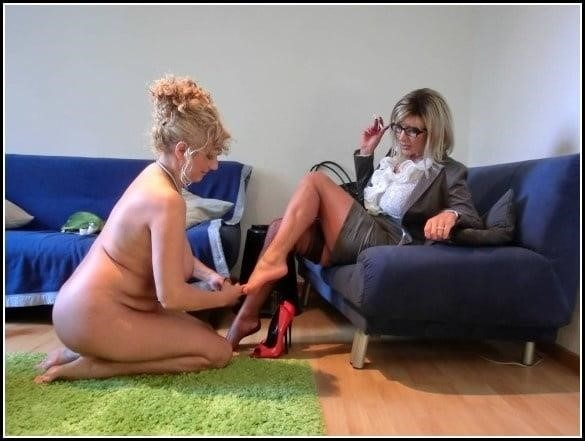 Foot slave lesbian-9242