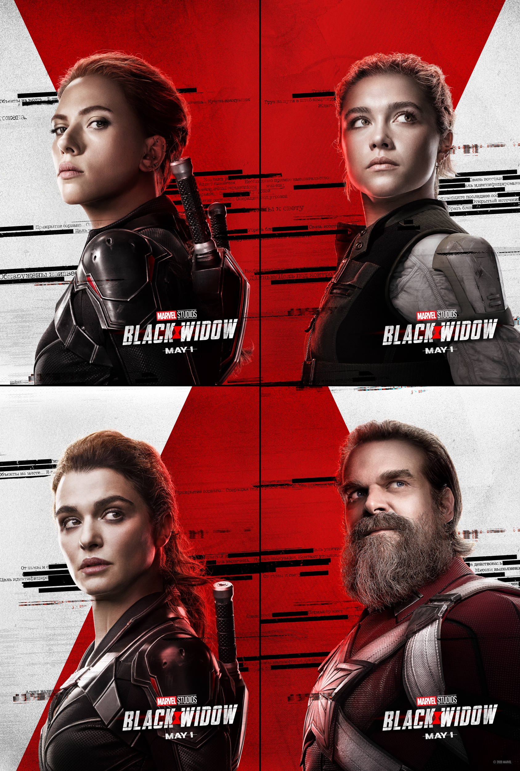 All Characters - Black Widow Poster