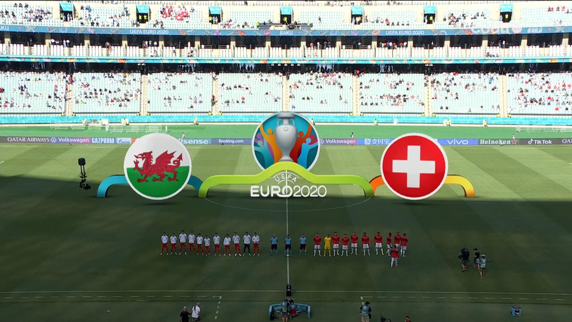 Full match: Wales vs Switzerland