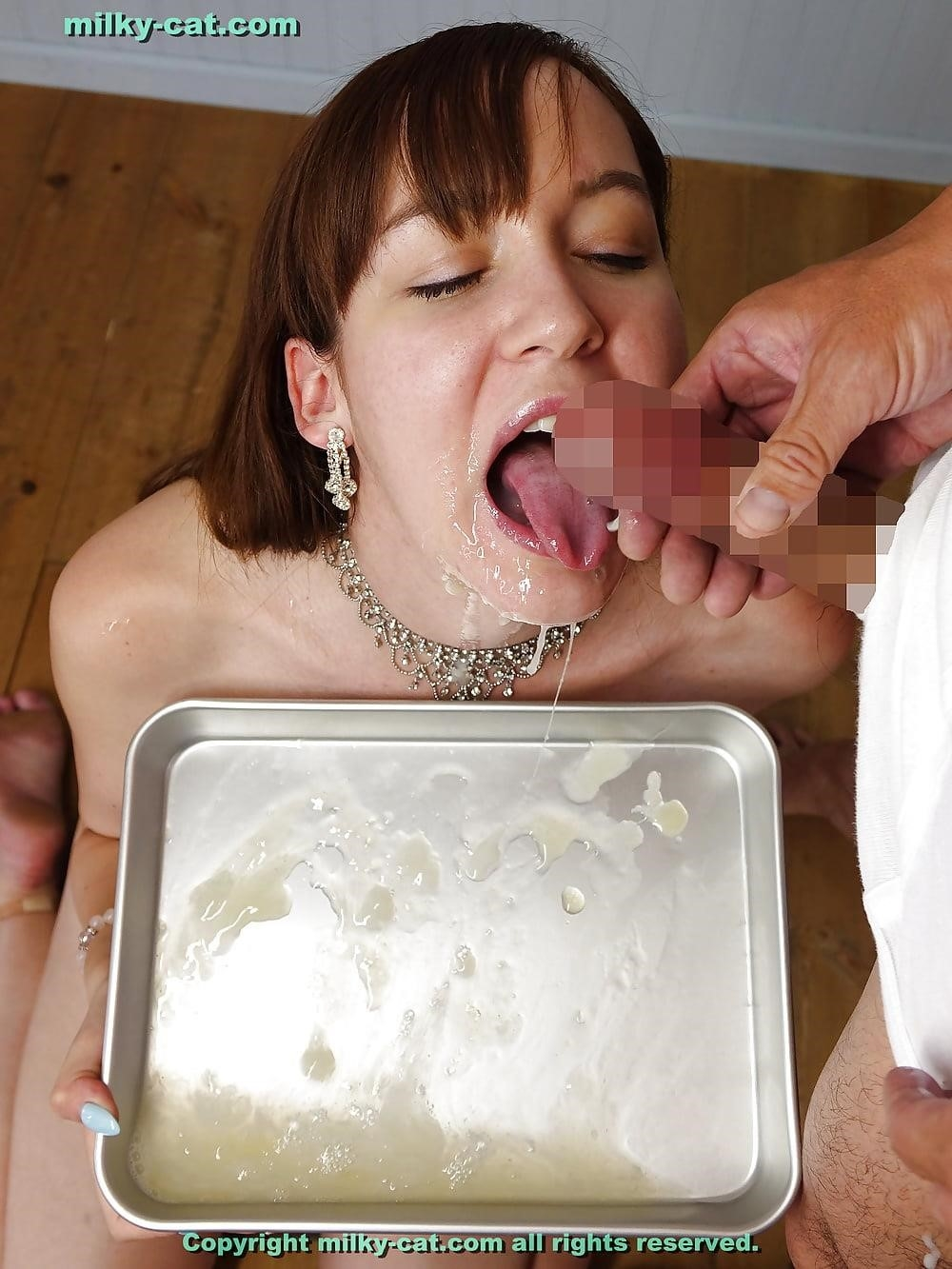 White girl bukkake-8448