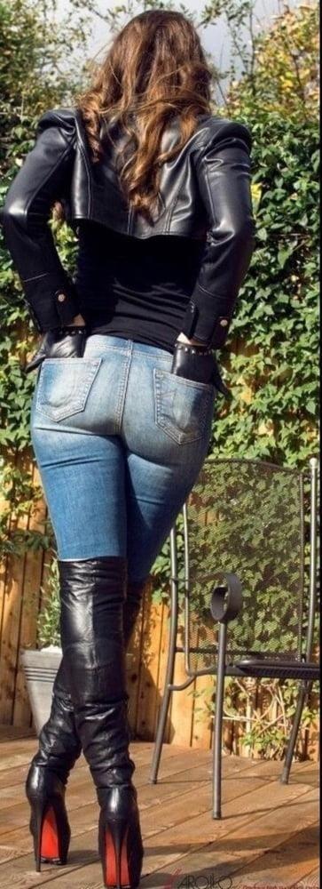 Divided jean jacket-1041