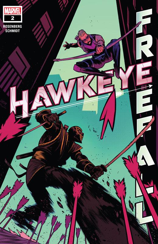Hawkeye - Freefall #1-2 (2020)