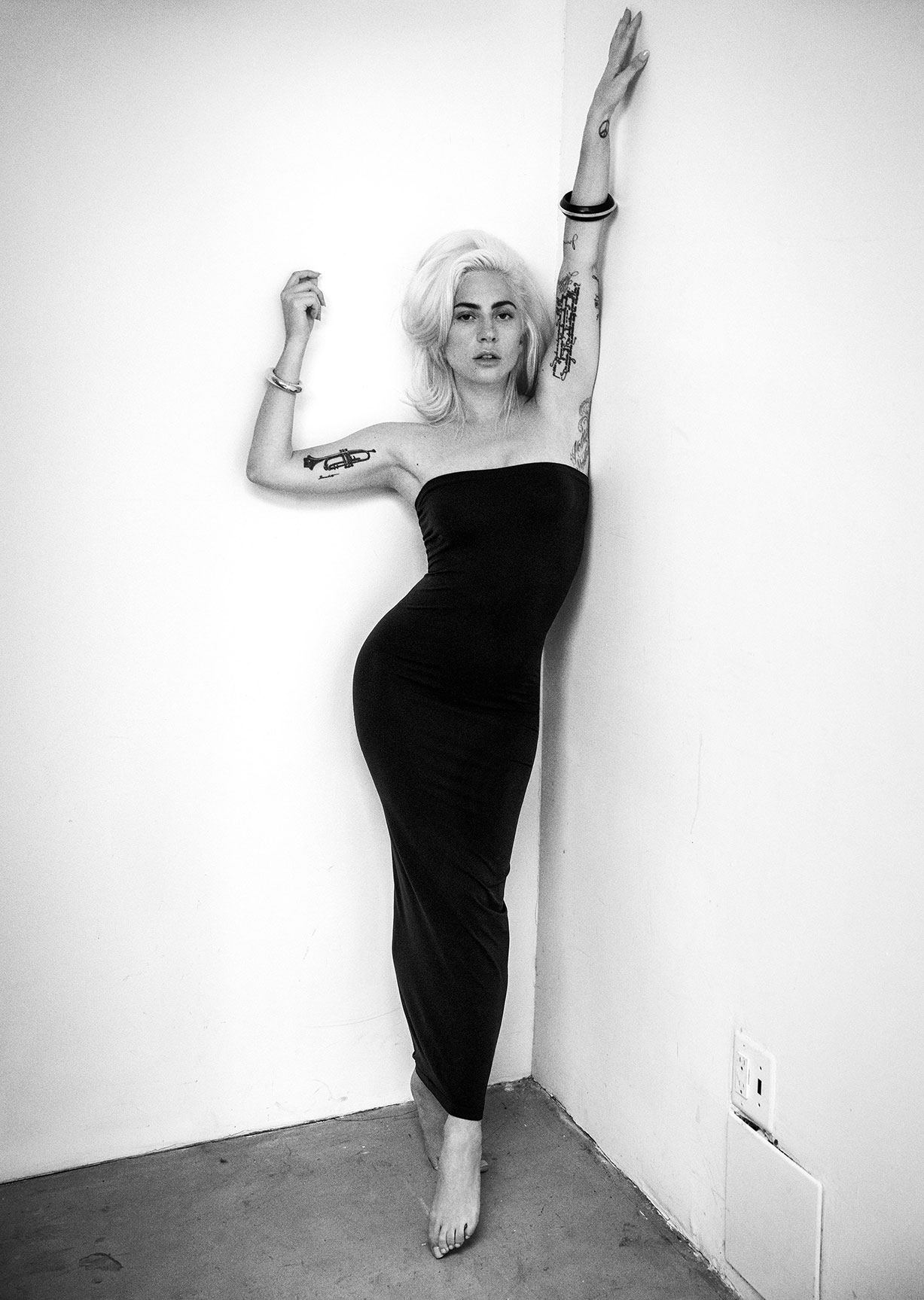 Lady Gaga by Inez van Lamsweerde and Vinoodh Matadin