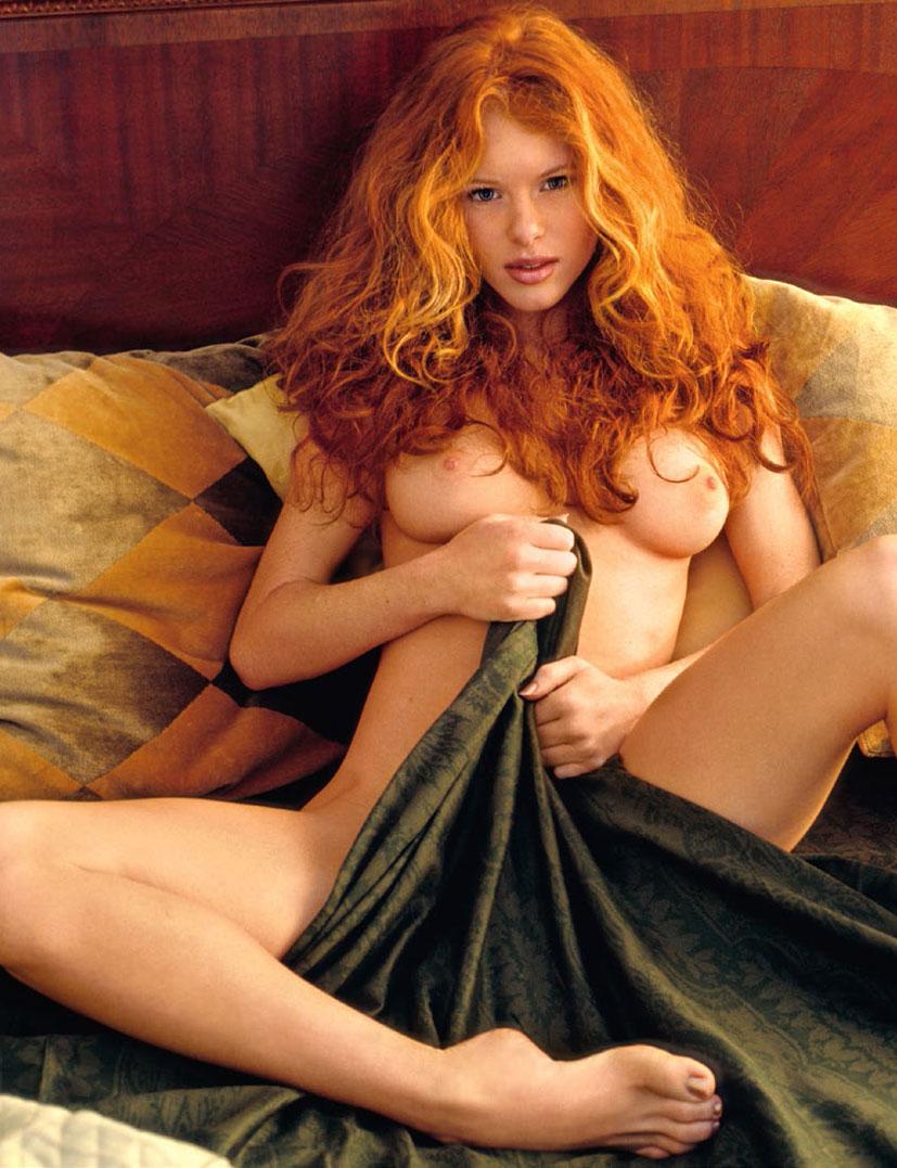 рыжие сексуальные красавицы в журнале Playboy - Heather Christensen