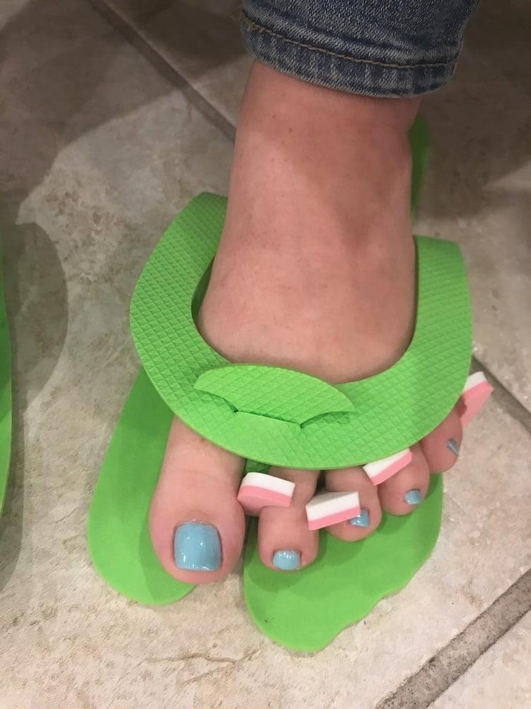 Girlfriend sexy feet-7264