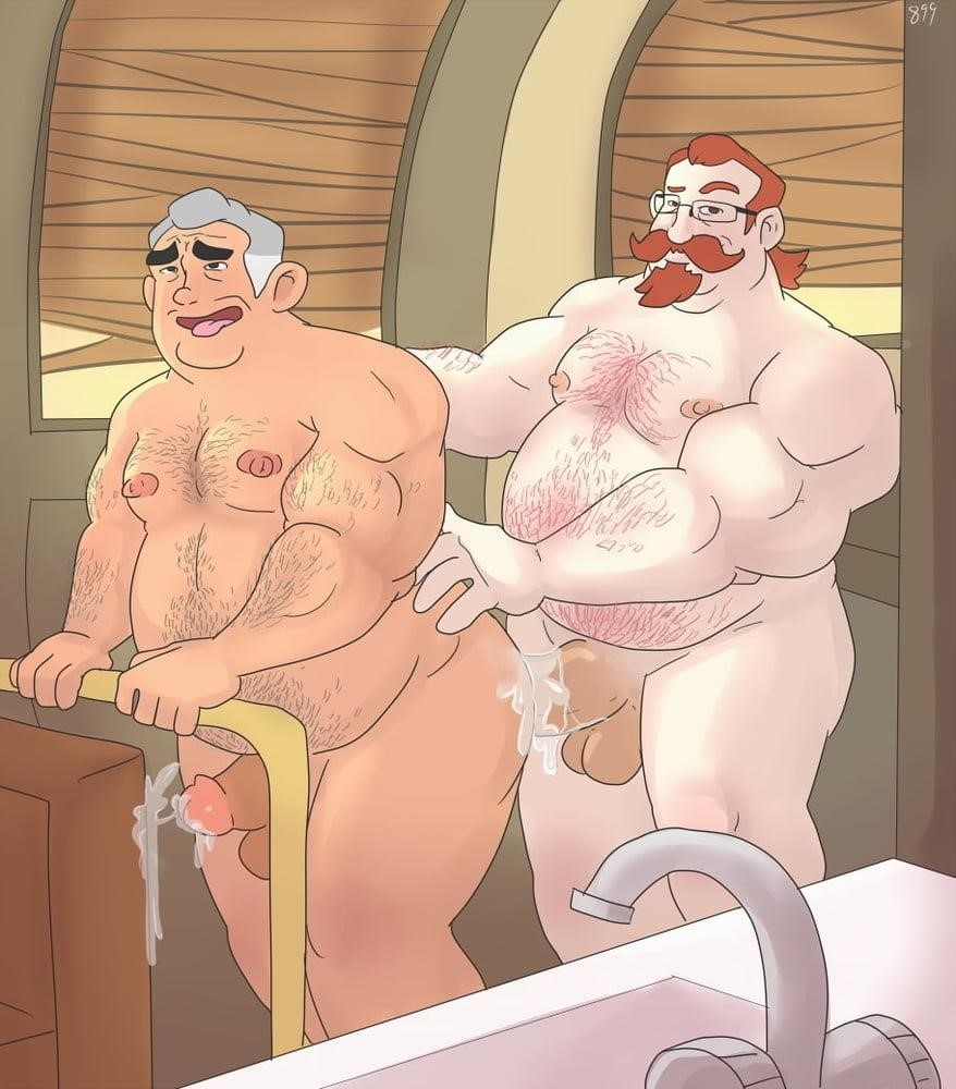 Dad son gay cartoon porn-6972