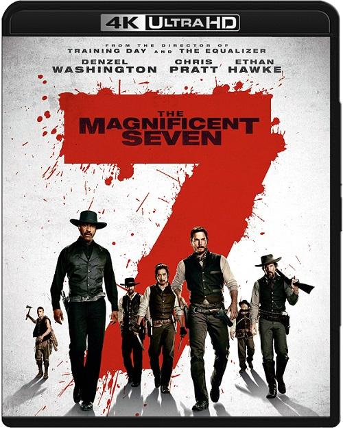 Siedmiu wspaniałych / The Magnificent Seven (2016) MULTi.REMUX.2160p.UHD.Blu-ray.HDR.HEVC.ATMOS7.1-DENDA / LEKTOR i NAPISY PL