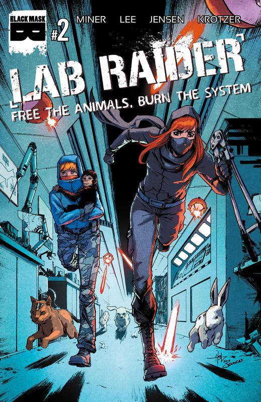 Lab Raider #1-4 (2019-2020)