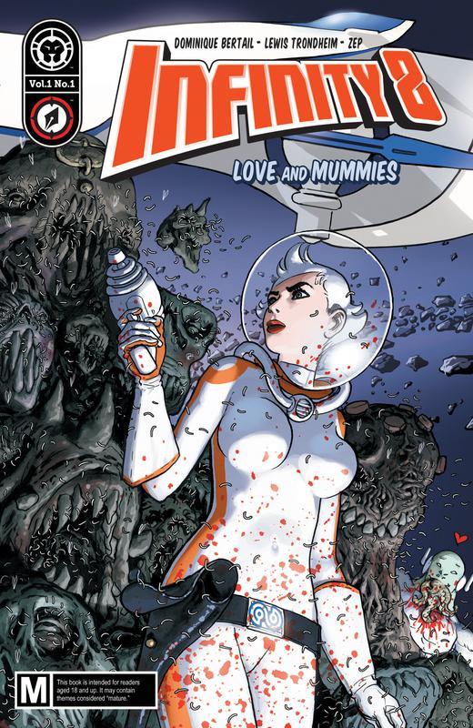 Infinity 8 #1-24 (2018-2020) Complete