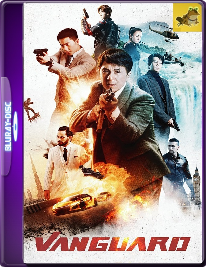 Agentes Vanguard (2020) Brrip 1080p (60 FPS) Latino / Chino