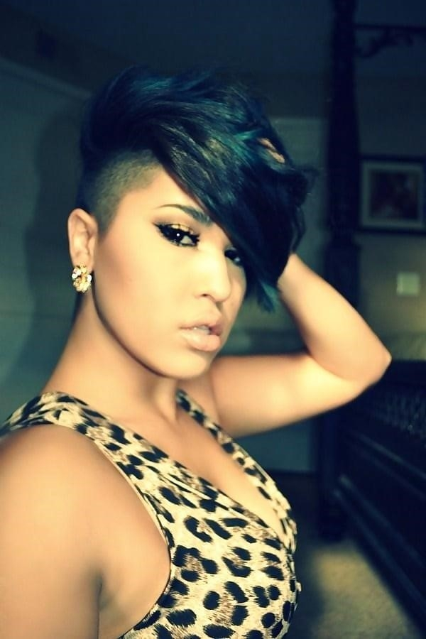 Different short hairstyles for black ladies-3494