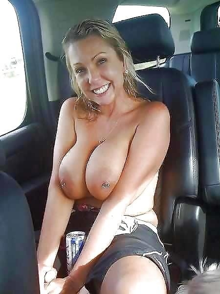 Busty public nudity-4887