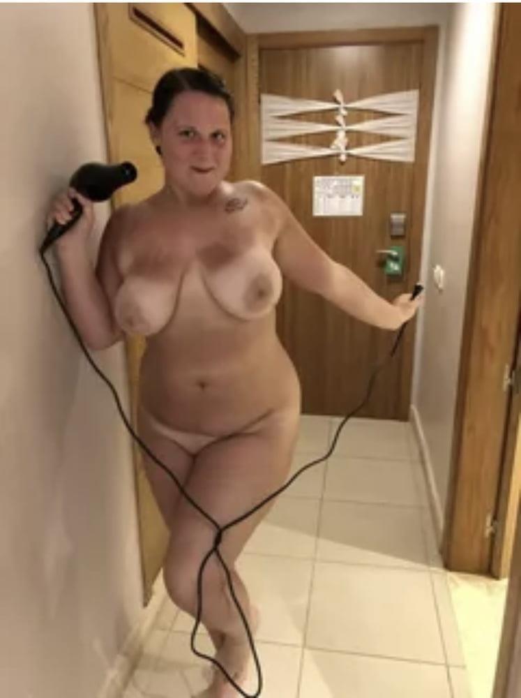 Chubby naked granny-6200