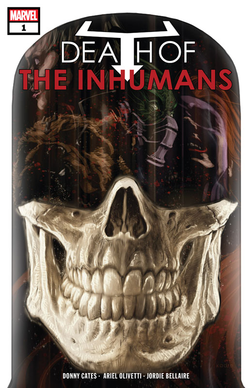Death of the Inhumans #1-5 (2018) Complete