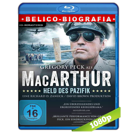 descargar MacArthur El General Rebelde 1080p Lat-Cast-Ing[Belico](1977) gratis