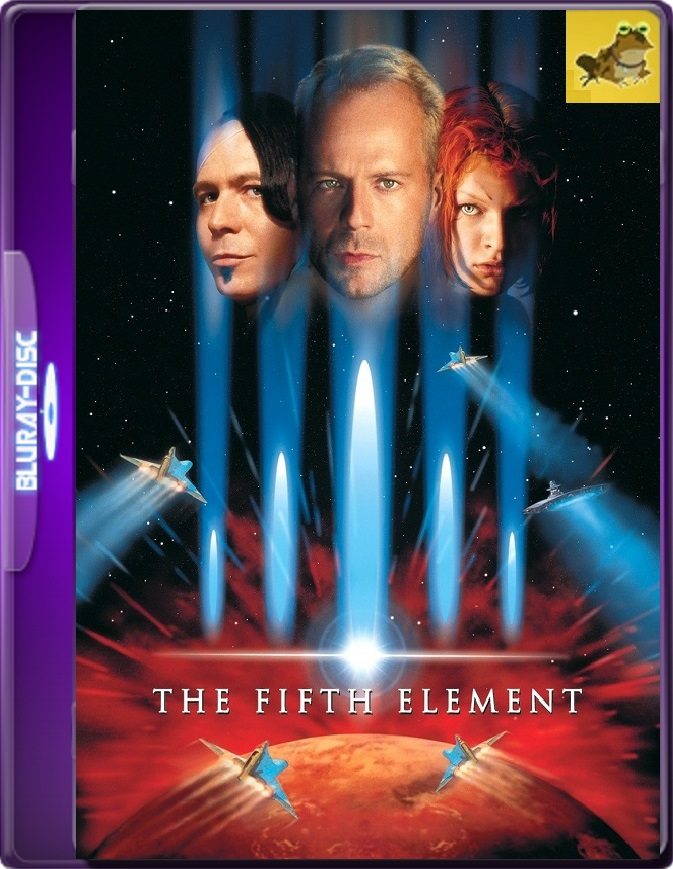 El Quinto Elemento (1997) Brrip 1080p (60 FPS) Latino / Inglés