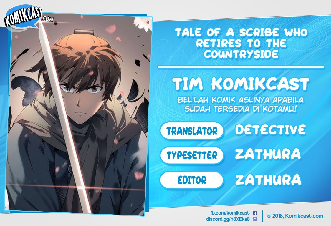 Tale of a Scribe Who Retires to the Countryside Chapter 17 Bahasa Indonesia