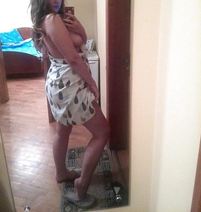 Nude white girl selfies-1348