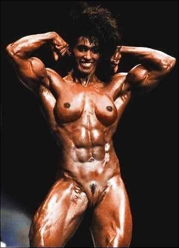 Female bodybuilders with huge clits-5095